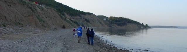 Just after dawn - Anzac Cove 25 April 2002