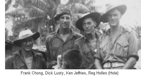 Frank Chong, Dick Lusty, Ken Jeffries and Reg Holles