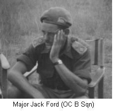 Major Jack Ford (OC B Sqn)