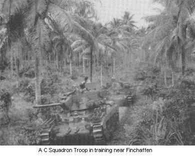 Troop training in the jungle