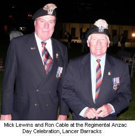 Mick Lewins and Ron Cable