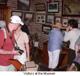 Visitors to the Museum