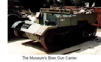 The Museum's Bren Gun Carrier