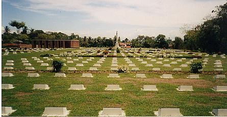 Graves at Balikpappan