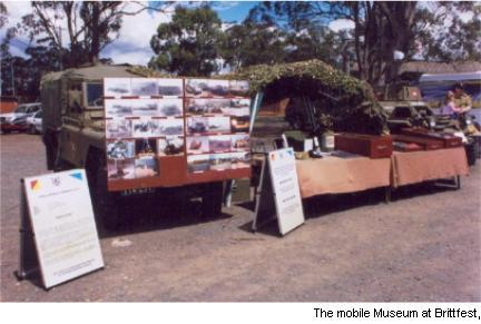 The Mobile Museum at Brittfest 2003