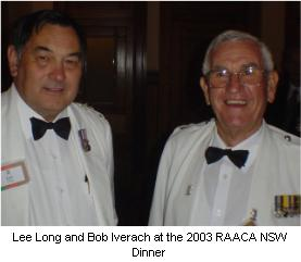 At the 2003 RAAC dinner.