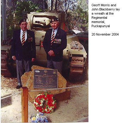 Wreathlaying at Puckapunyal