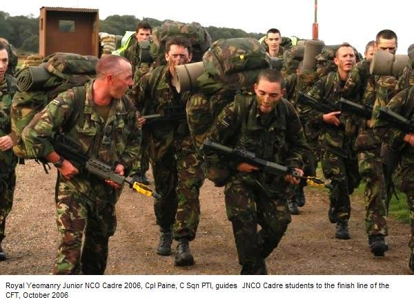 Royal Yeomanry Combat Fitness Test