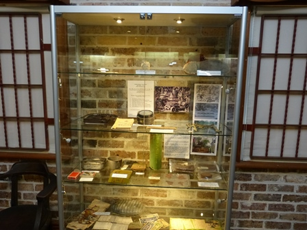 The new display cabinets