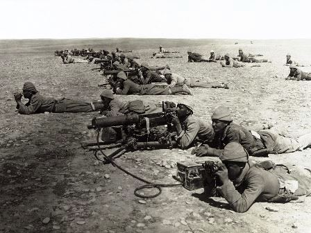 Turkish Machine Gunners