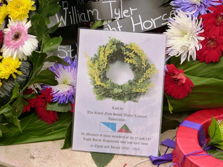 Our Wreath at the Commemoration