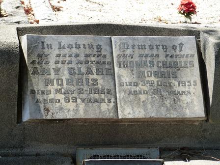 Toms Grave at Corowa